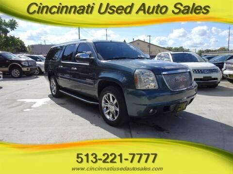 2007 GMC Yukon XL for sale at Cincinnati Used Auto Sales in Cincinnati OH