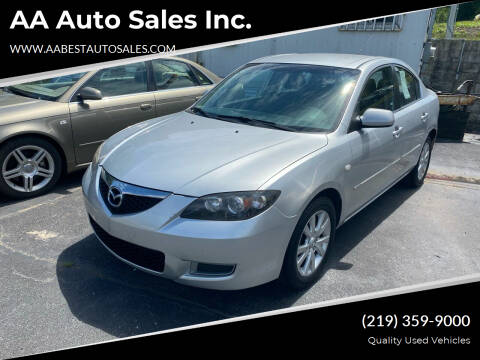 2008 Mazda MAZDA3 for sale at AA Auto Sales Inc. in Gary IN