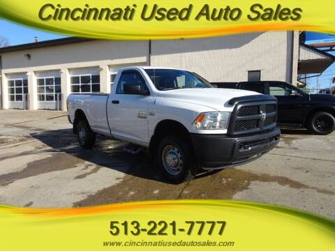 2013 RAM Ram Pickup 2500 for sale at Cincinnati Used Auto Sales in Cincinnati OH