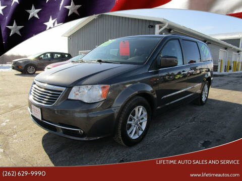 2016 Chrysler Town and Country for sale at Lifetime Auto Sales and Service in West Bend WI