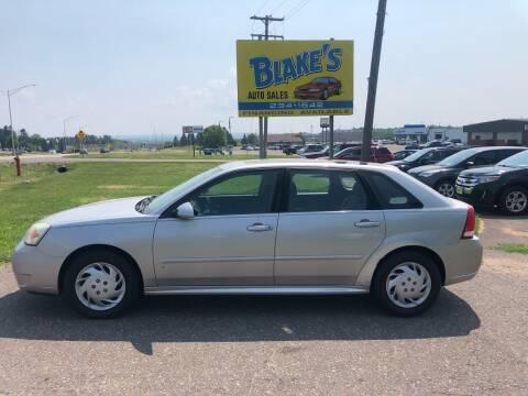 2006 Chevrolet Malibu Maxx for sale at Blake's Auto Sales in Rice Lake WI