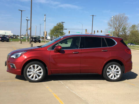 2018 Buick Envision for sale at LANDMARK OF TAYLORVILLE in Taylorville IL
