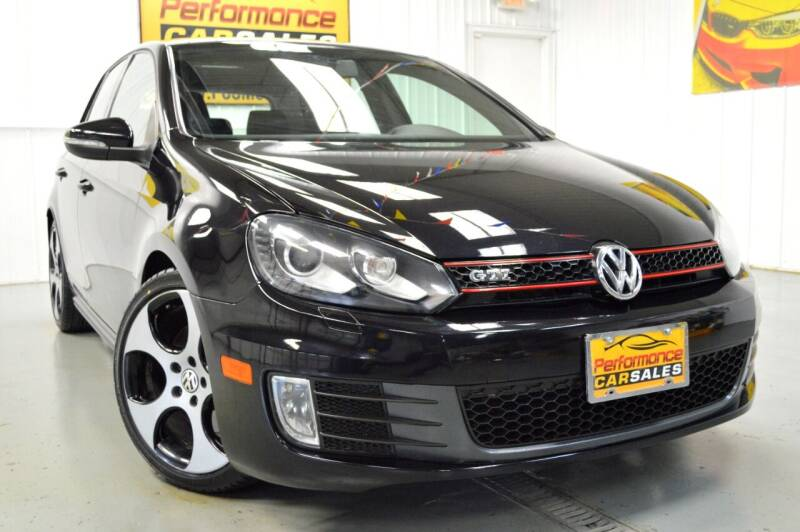 2012 Volkswagen GTI for sale at Performance car sales in Joliet IL