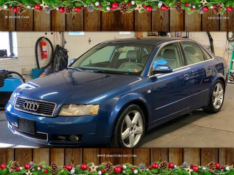 2005 Audi A4 for sale at JK Motor Cars in Pittsburgh PA