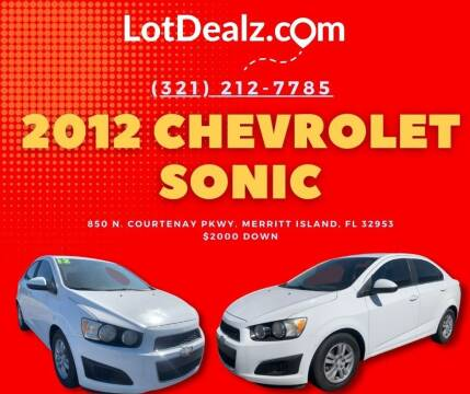 2012 Chevrolet Sonic for sale at ROCKLEDGE in Rockledge FL
