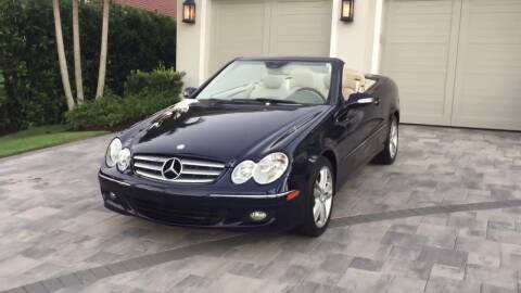 2008 Mercedes-Benz CLK for sale at Great Lakes Classic Cars & Detail Shop in Hilton NY