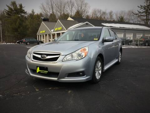 2012 Subaru Legacy for sale at 207 Motors in Gorham ME