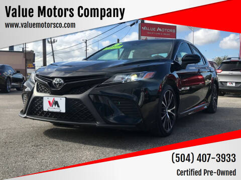 2018 Toyota Camry for sale at Value Motors Company in Marrero LA