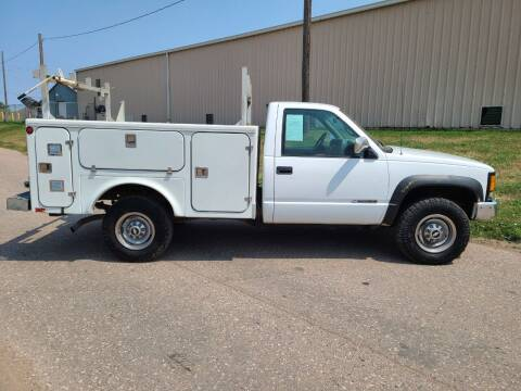 1999 Chevrolet C/K 3500 Series for sale at J & J Auto Sales in Sioux City IA
