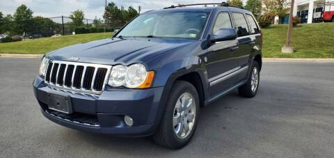 2009 Jeep Grand Cherokee for sale at Aren Auto Group in Sterling VA