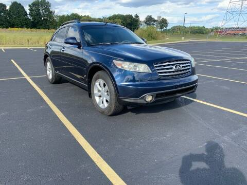 2005 Infiniti FX35 for sale at Quality Motors Inc in Indianapolis IN