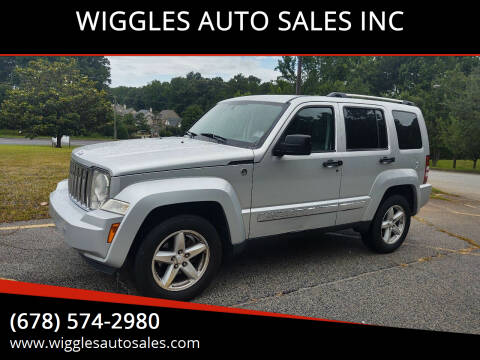 2008 Jeep Liberty for sale at WIGGLES AUTO SALES INC in Mableton GA