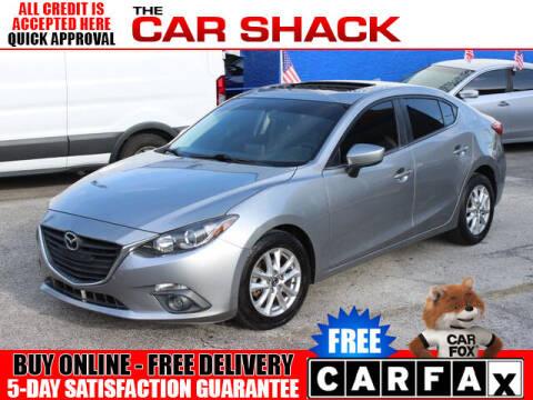 2015 Mazda MAZDA3 for sale at The Car Shack in Hialeah FL