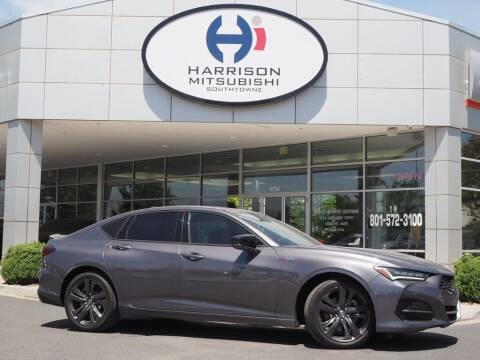 2021 Acura TLX for sale at Harrison Imports in Sandy UT