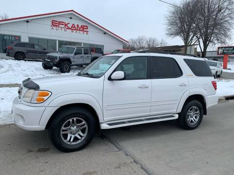 2003 Toyota Sequoia for sale at Efkamp Auto Sales LLC in Des Moines IA