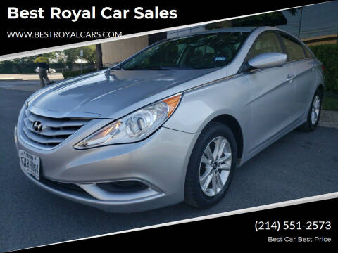 2013 Hyundai Sonata for sale at Best Royal Car Sales in Dallas TX