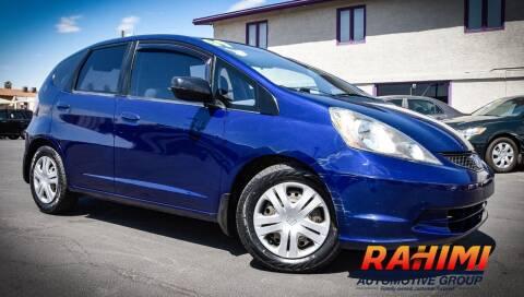 2009 Honda Fit for sale at Rahimi Automotive Group in Yuma AZ