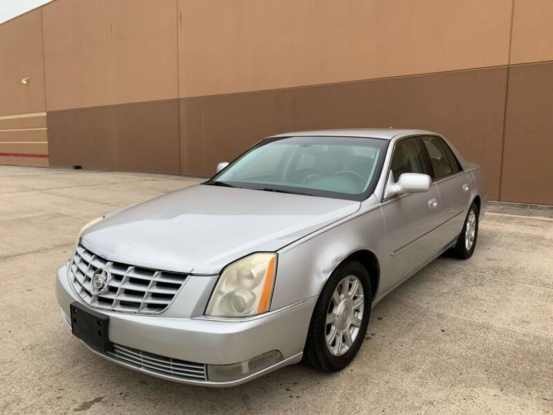 2010 Cadillac DTS for sale at ALL STAR MOTORS INC in Houston TX
