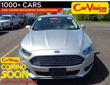 2016 Ford Fusion for sale at Car Vision Buying Center in Norristown PA