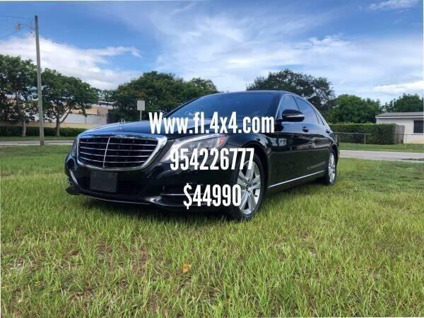 2017 Mercedes-Benz S-Class AWD S 550 4MATIC 4dr Sedan - Fort Lauderdale FL