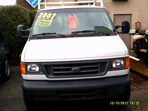 2007 Ford E-Series Cargo for sale at Trust Petroleum in Rockland MA