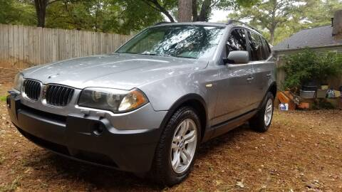 2004 BMW X3 for sale at Hometown Auto Brokers LLC in Marietta GA