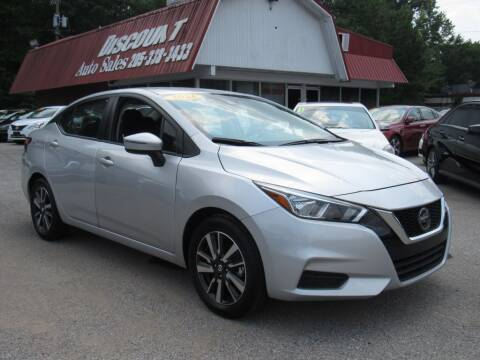 2021 Nissan Versa for sale at Discount Auto Sales in Pell City AL