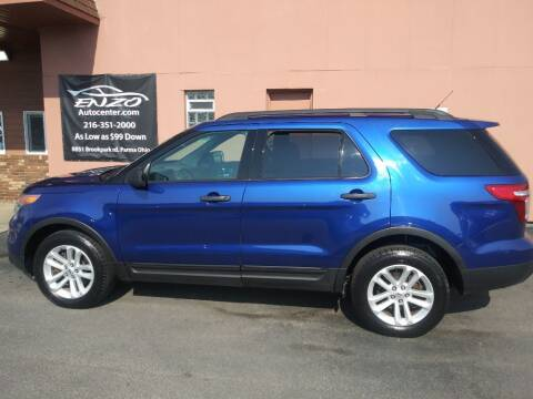 2015 Ford Explorer for sale at ENZO AUTO in Parma OH