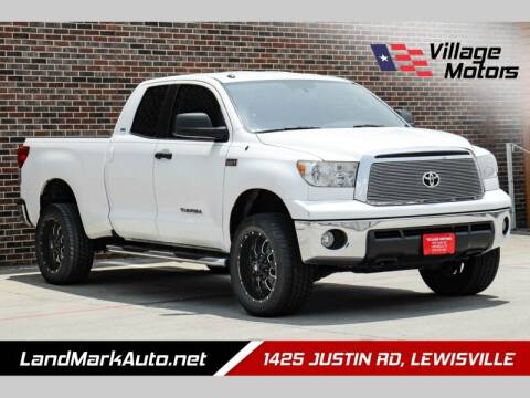 2013 Toyota Tundra for sale at Village Motors in Lewisville TX