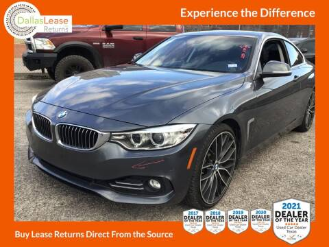 2014 BMW 4 Series for sale at Dallas Auto Finance in Dallas TX