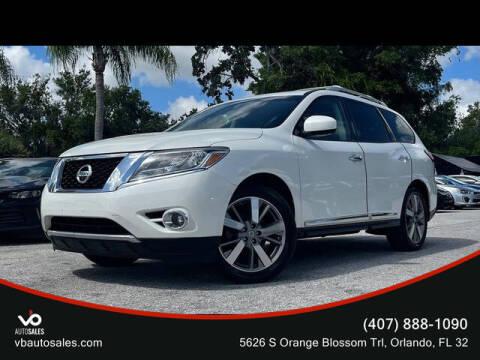 2015 Nissan Pathfinder for sale at V & B Auto Sales in Orlando FL