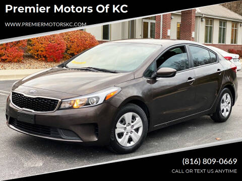 2018 Kia Forte for sale at Premier Motors of KC in Kansas City MO