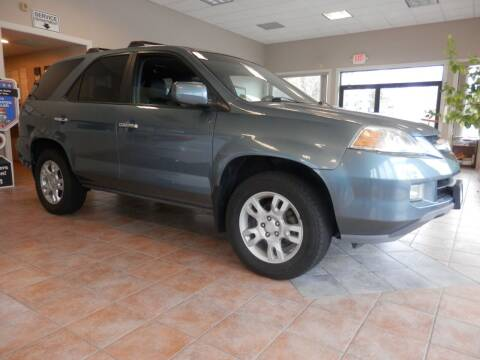 2006 Acura MDX for sale at ABSOLUTE AUTO CENTER in Berlin CT