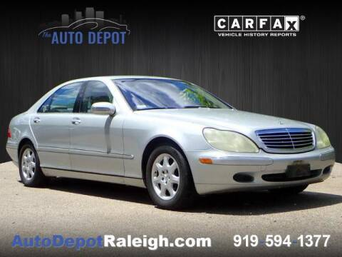 2002 Mercedes-Benz S-Class for sale at The Auto Depot in Raleigh NC
