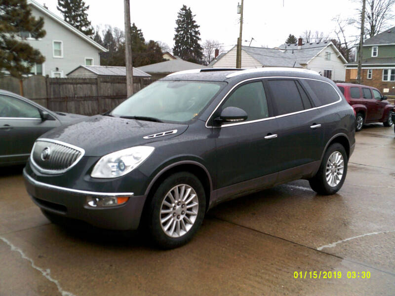 2012 Buick Enclave for sale at Fred Elias Auto Sales in Center Line MI