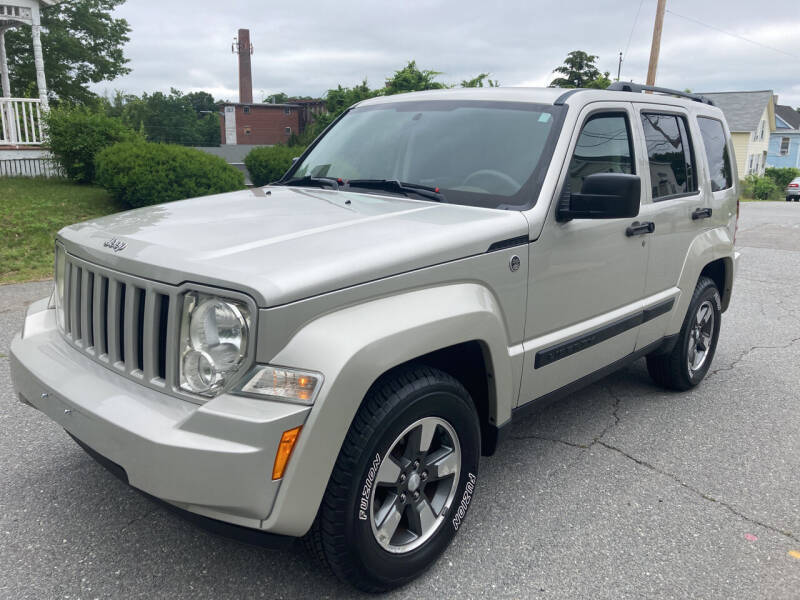 2008 Jeep Liberty for sale at D'Ambroise Auto Sales in Lowell MA