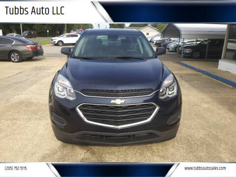 2017 Chevrolet Equinox for sale at Tubbs Auto LLC in Tuscaloosa AL