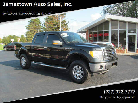 2010 Ford F-150 for sale at Jamestown Auto Sales, Inc. in Xenia OH