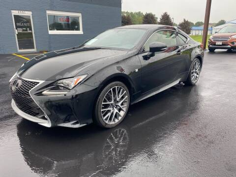 2015 Lexus RC 350 for sale at Eagle Auto LLC in Green Bay WI
