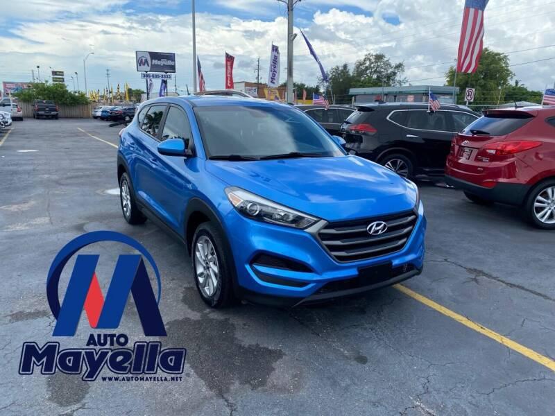 2016 Hyundai Tucson for sale at Auto Mayella in Miami FL