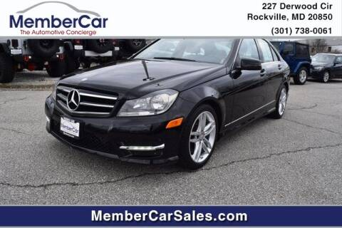 2014 Mercedes-Benz C-Class for sale at MemberCar in Rockville MD