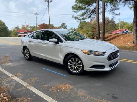 2015 Ford Fusion for sale at THE AUTO FINDERS in Durham NC