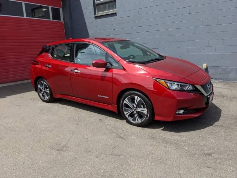 2018 Nissan LEAF for sale in Seattle, WA