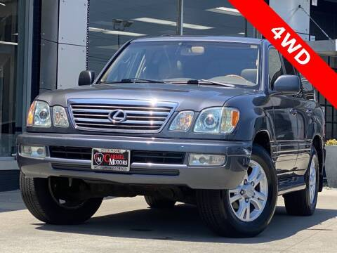 2004 Lexus LX 470 for sale at Carmel Motors in Indianapolis IN