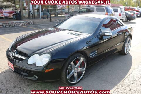 2005 Mercedes-Benz SL-Class for sale at Your Choice Autos - Waukegan in Waukegan IL