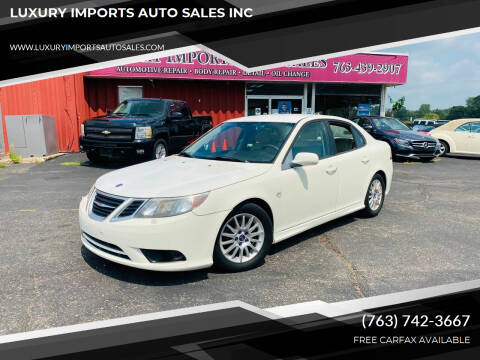 2008 Saab 9-3 for sale at LUXURY IMPORTS AUTO SALES INC in North Branch MN