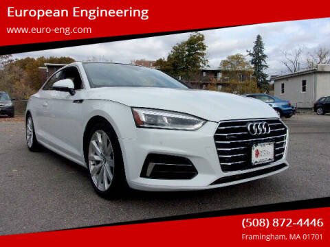 2018 Audi A5 for sale at European Engineering in Framingham MA