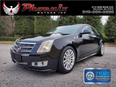 2010 Cadillac CTS for sale at Phoenix Motors Inc in Raleigh NC