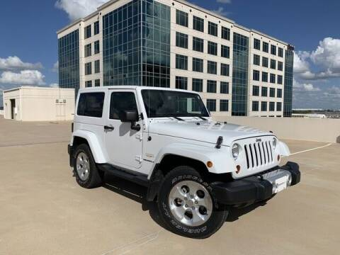 2013 Jeep Wrangler for sale at SIGNATURE Sales & Consignment in Austin TX