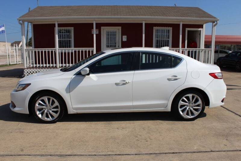 2017 Acura ILX for sale at AMT AUTO SALES LLC in Houston TX